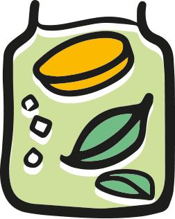 ikona informacji o tym jakie są składniki kombuchy