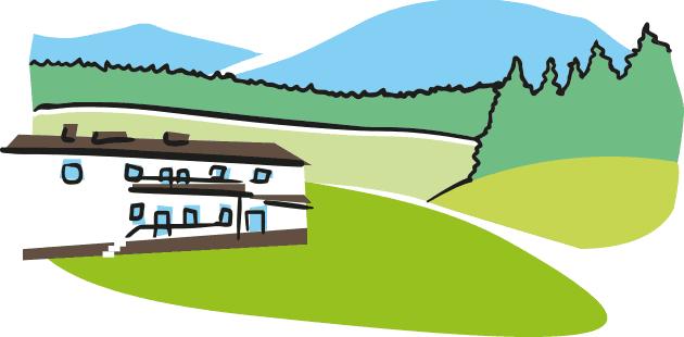 Krajobraz okolic wytwórni Simple Kombucha w Mochnaczce Niżnej
